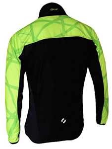 Летняя разминочная куртка OLLY BRIGHT SPORT Lime2