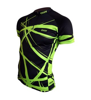 Футболка OLLY BRIGHT SPORT Green-black