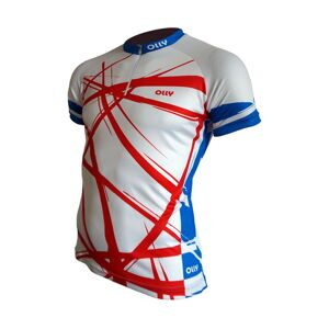 Футболка OLLY BRIGHT SPORT RUSSIA White-Red